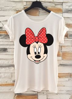 Mickey Mouse tshirt / White tshirt / Printed by ANISHARsport, $18.90