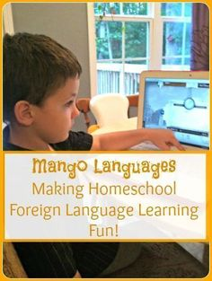Homeschool foreign language learning fun. Latin is included!