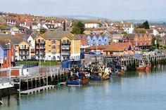 Traditional small British fishing port, Newhaven, England, UK  © Dutourdumonde