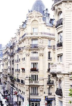 I'd definitely have an apartment in Paris, which one of the places that I'd love to visit most.
