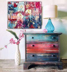 My Valentine painted furniture #affiliate #paintedfurniture