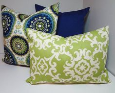 FRONT PILLOW pillow green medallion - Google Search