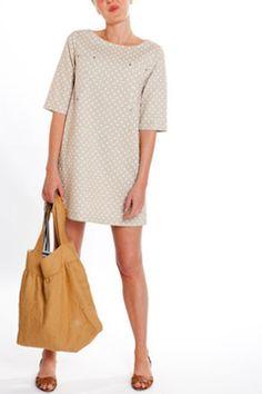 cute dress and really like the bag too!