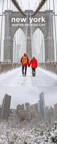Winter Packing List for New York (#newyork #nyc #packing #winter) // localadventurer.com