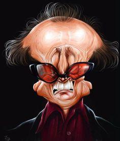 Jack Nicholson illustrated by Arash Foroughi