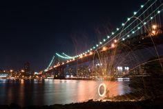 Bridge lighting paint