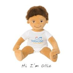 Eco-Friendly Doll that fits perfectly in 6 month old baby clothes, great way to re-use baby clothes :)