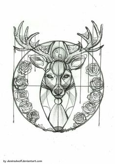 Deer Tattoo Design by desiredwolf Deer Skull Tattoos, Deer Tattoo, Deer Skulls, Bow Tattoos, Hwang Jung Eum, Tumblr, Tattoo Inspiration, Tattoo Designs, Tattoo Ideas