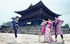 Vogue Korea // August 2013