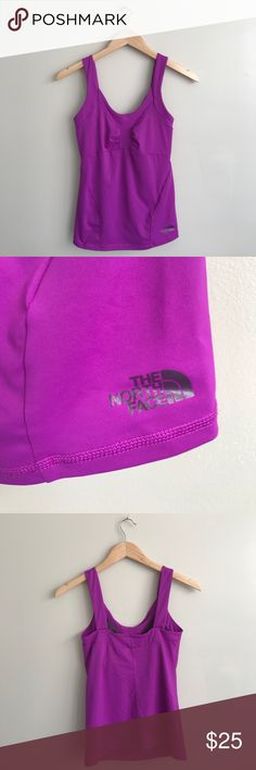 The North Face • Workout Fushia Top The North Face The North Face Tops