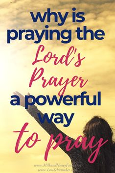 In Matthew 6 Jesus gave an example as well as a guideline for praying.That guideline is what we now call the Lord's Prayer. Lord's Prayer, Prayer Verses, Faith Prayer, Scriptures, Bible Verses, Scripture Images, Prays The Lord, Identity In Christ, Inspirational Verses