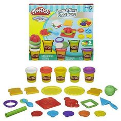 5 Cans of Play-Doh Modeling Compound Fun to play with but not to eat. Ages 3+...
