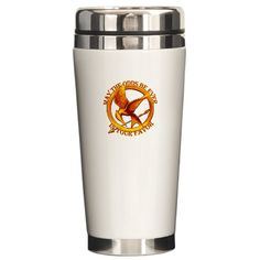 The Hunger Games Odds Ceramic Travel Mug