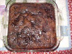 Chocolate Cobbler??! Has a gooey center and sounds delicious. I want to try it with organic ingredients and espresso hot water on top.