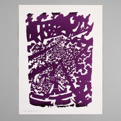 Limited Works - Hand crafted art prints — Mads Westrup - Fading Pattern