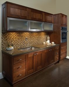 Kitchen, Bath and Closet Cabinetry by Wellborn Cabinet, Inc. Bristol Cherry
