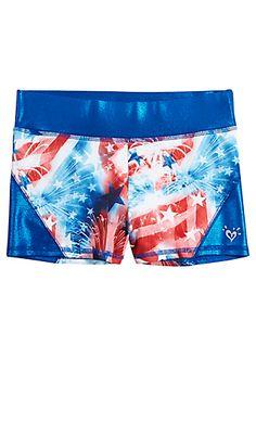 Stars & Stripes Compression Shorts