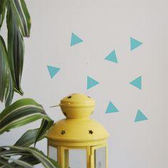 Wall stickers - vinilo - triangles www.mimosayestraza.com