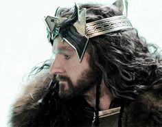 Thorin, my king Tauriel, Legolas, The Hobbit Movies, O Hobbit, Hobbit Art, Raven King, Bagginshield, Elfa, Thorin Oakenshield