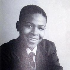 A very young Marvin Gaye