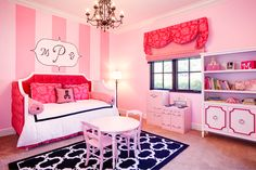Eloise at the Plaza Inspired Toddler Room by Beach Bungalow Designs