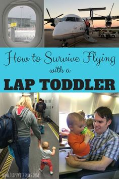 family travel How to Survive a Flight with a Lap Toddler: Tips and tricks for air travel with little ones, especially the hardest travel stage - toddlers! Travel Tips With Baby, Traveling With Baby, Travel With Kids, Family Travel, Family Vacations, Travelling With Toddlers, Travel Tips With Toddlers, Beach Vacations, Camping Ideas