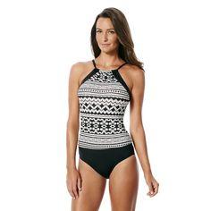 5dd50b6226906 Jag Swim Coco Cruz High Neck One Piece Back Strap, Swimsuits, Swimwear,  Tankini