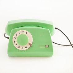 mint green phone