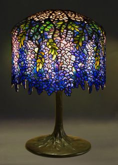 stained glass lamps - Google Search