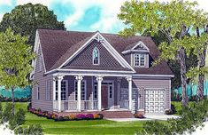 ***Darcy love loves this layout!!!****Colonial Style House Plans & Cottage House Plans With Porches