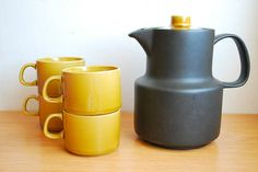 Vintage Melitta Germany Matte Black Coffee by LittleShopTreasures,