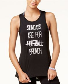 f1a6bad8bbdf7 Material Girl Active Juniors  Brunch Graphic Tank Top