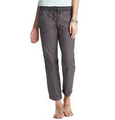 Loft - Womens Lounge Wear: Activewear, Sleepwear, Yoga Pants, Lounge Pants: LOFT - Cotton Poplin Roll Cuff Pants