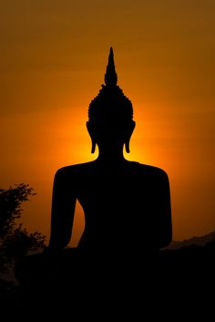 """""""We are what we think. All that we are arises with our thoughts. With our thoughts we make the world."""" Buddha Foto is much cooler if you watch it with black background ;-)"""