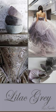 Lu's Inspiration Hi Ladies, Beautiful Strawberry Ice, Luv that color! For Friday, Let's do Lilac Grey! Have a Fab Weekend! Wedding Color Schemes, Colour Schemes, Color Trends, Color Patterns, Color Combinations, Colour Palettes, Winter Wedding Colors, Summer Wedding Colors, Summer Colors