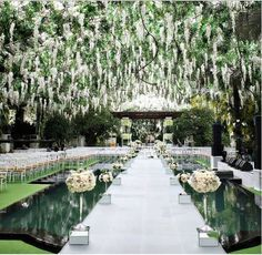 Gorgeous Wedding Venue | Ceremony Ideas | Wedding Inspiration | Green Wedding #weddingspot #weddings #venues