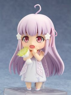 """Pre-Order Release Date: January 2017 """"I have to return to the flower garden..."""" From the anime movie 'Garakowa: Restore the World' comes a Nendoroid of the girl who lose her memories, Remo! She comes"""