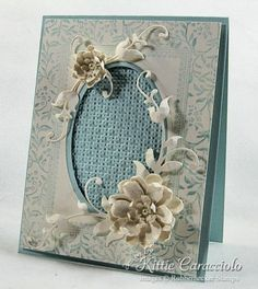 Floral Valentine by kittie747 - Cards and Paper Crafts at Splitcoaststampers