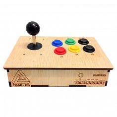 arcade buttons and joystick case - Google Search Arcade Buttons, Arcade Console, Triangle, Google Search