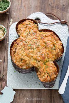 Colomba salata, Ricetta pasquale facile senza lievitazione