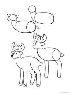 free clip arts: How To Draw Animals clipart Drawing Lessons For Kids, Art Drawings For Kids, Doodle Drawings, Cartoon Drawings, Easy Drawings, Animal Drawings, Drawing Sketches, Art Lessons, Drawing Tips