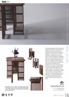 IKSKI Tea table folding  extendable table tea table