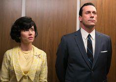 Sylvia Rosen (Linda Cardellini) and Don Draper (Jon Hamm) in Episode 8
