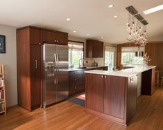 Mid Century Modern Kitchen Remodel mid-century modern kitchen remodel | nkba kitchen | pinterest