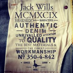 http://www.4th-avenue.com/ 4thavenuegraphics #4thAvenueGraphics #jackwills…