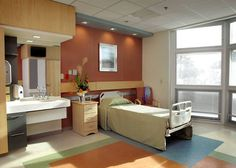 Patient Room design at Lake Taylor Transitional Care Hospital