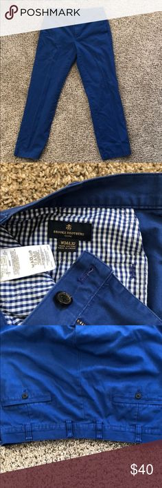 4aecf9936e0 Shop Men s Brooks Brothers Blue size 34 Chinos   Khakis at a discounted  price at Poshmark. Description  Royal Blue Brooks Brothers Pants - Size  Sold by ...