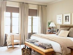 more neutral bedroom inspirations. I am ready for my weekend makeover! Serene Bedroom, Beautiful Bedrooms, Dream Bedroom, Home Bedroom, Master Bedroom, Bedroom Decor, Bedroom Colors, Bedroom Ideas, Bedroom Inspiration