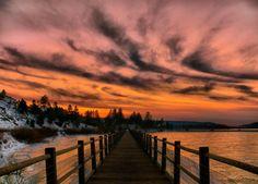 big bear lake, CA...  I LOVE where I live!!!
