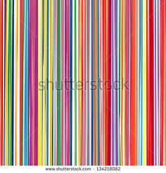 Abstract art rainbow curved lines colorful vector background 9